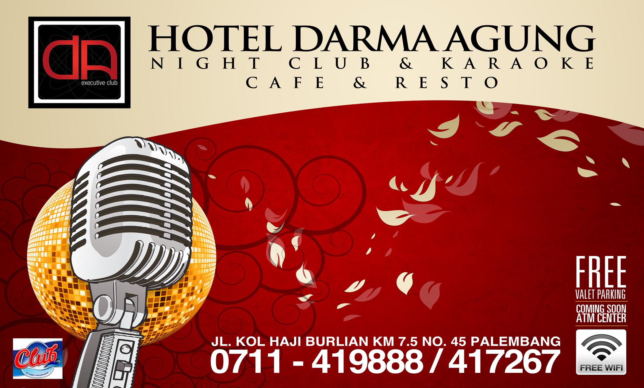 Backlit Hotel Darma Agung